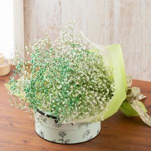 母の日 花束「感謝〜カスミ草に託して〜」