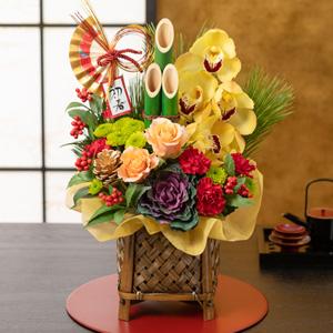 お正月 アレンジメント「慶春の宴〜雅〜」