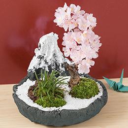盆栽「日本の美〜富士の春〜」