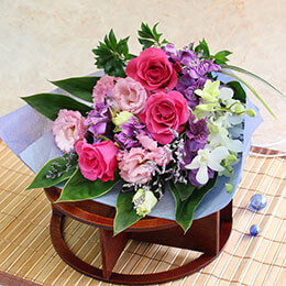 花束「日本の夏便り」
