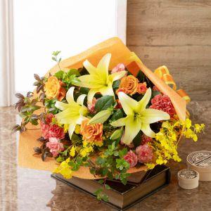 EX花束「Autumn Flowers〜感謝の気持ちを託して〜」