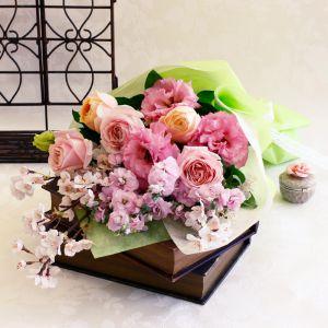 <千趣会イイハナ> 花束「Precious Bouquet=感謝のこころ=」