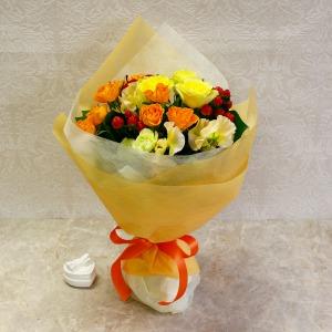花束「スマイリーブーケ〜リンゴ〜」