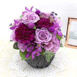 アレンジメント「La rose violette・M」