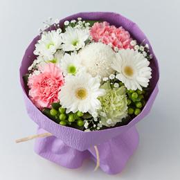 花束「優美〜そのまま飾れるお悔み花束〜」
