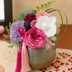 EXプリザーブドフラワー「花蝶の宴」
