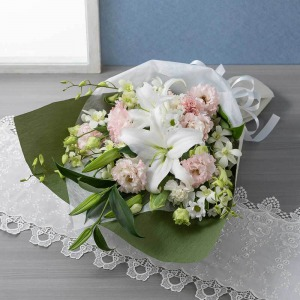 EX花束「花穂のか(桜色重ね)」