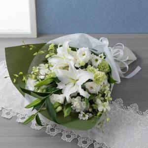 花束「花穂のか(白)」