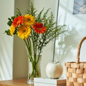 花束セット「フラワーベースセット(ガーベラ)」