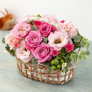 アレンジメント「Panier de fleur〜花かご〜」