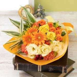花束「Cheerfulness Gerbera・Orange」