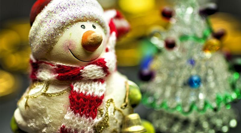 クリスマスカラーを使う