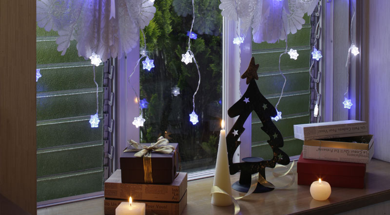 イルミネーションで幻想的なクリスマスを